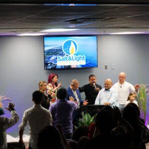 Pastor Nathan Blackwell honored in Salt&Light Christian Church's First Anniversary Celebration